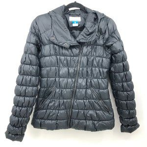 Columbia Quilted Puffer Jacket Size Small Black
